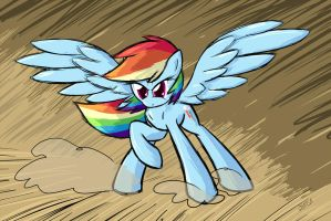 It's Rainbow Dash! by Whatsapokemon