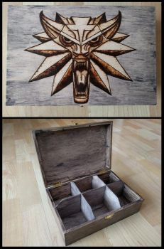 The Witcher Box v2 by EveWoodwork