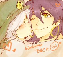Sj Welcome Back  by bcatbcat