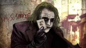 Why So Serious? by Jurryt