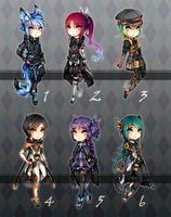 Adopts ::: Set 9 [Closed] by Saibraeus
