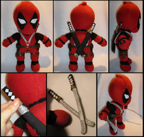 Deadpool Plush by S2Plushies