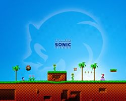 Sonic 15th Anniversary by singaboy