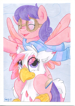 BFFs (Art Process G) by TwilightFlopple