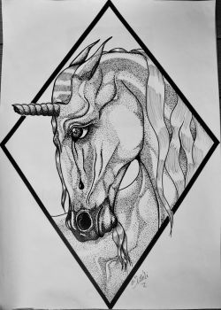 The Sadness of the Unicorn by MySweetDarkness
