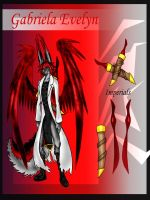 Gabriel Evelyn's Reference by matirx7