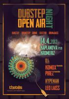 Flyer / Dubstep Open Air Night by K0M0X