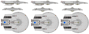 Modifed Excelsior Frigate Saucer Done with Help :) by kaisernathan1701