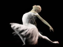 The White Swan - Ballerina by Elle-Arden