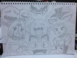 Team Rocket! by gothic-frost
