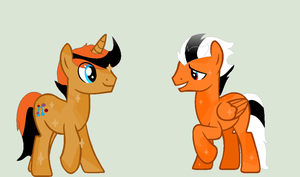 mlp starfloks bf is meating mines! :3 request by RainbowShine-Mlp
