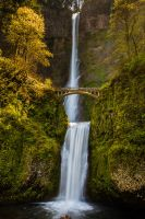 Multnomah Falls by PuttPokE