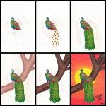 The making of the 'Peacock'.. by preethi524