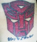 Finally Healed Autobot Tattoo by ShinigamisPet