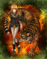 I got the eye of the Tiger by GreeNissy