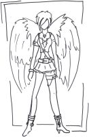 Rebellious Angel Giovanna by jade161588
