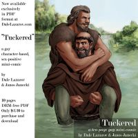 Tuckered -- Friar Tuck and Little John in love by DaleLaz