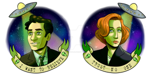 X Files by coolghoul98