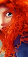 Merida Digital Painting by AllSanityLost