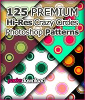 125 Circles Premium Hi-Res Photoshop Patterns by Packsdownload