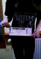 SOAD ticket by Kabanos97