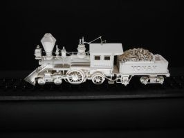 Master Ivory Carving of Yonah by SteamRailwayCompany