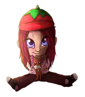 Commission :: Of Tomato Hats and Letters by TwistedZepher