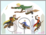 GO: Them Play Quidditch by quantum-witch