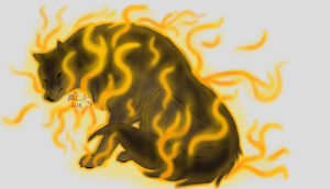 Swallowed by Flames by MsCitKat
