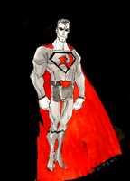 DSC 52312- Red Son Superman by GilTriana
