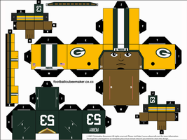 Nick Perry Packers Cubee by etchings13