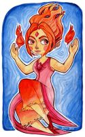 Flame Princess by rynarts