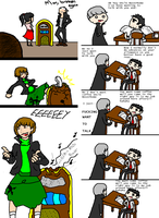 P4 COMIC COMBO PLATTER by Crazy-Chesh