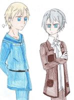 APH : Iceland and Norway by SwiftNinja91