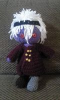 Vocoome crochet plushie by fluffpuffgerbil