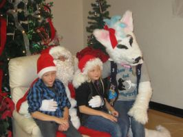 Picture with Santa :) by ShadowAndFrost
