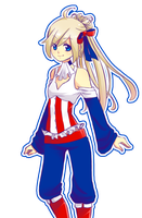 Patriot Female Official Art by AndreaJacqLee