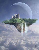 Island in the sky by DJMadameNoir