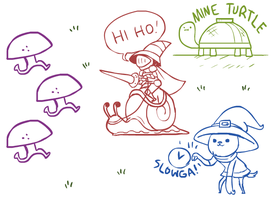 Livestream Doodles 10/8/2012 by The-Knick