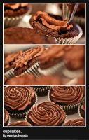 cupcakes. by footypie