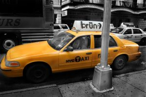 NYC Taxi by The-proffesional