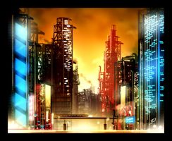 Speed paint buildings by mezaih