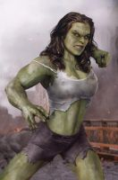 She Hulk In Next Avengers Movie? by BrianThomasX