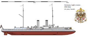 SMS Hela by 121199