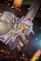 Kantai collection Kashima Cosplay by cosgalaxy