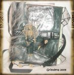 Cemetery Altered Art Journal by grimdeva
