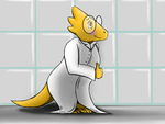 Dr. Alphys (UNDERTALE fanart) by BluSpirits