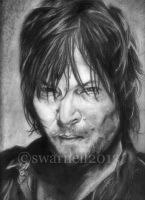 Norman Reedus by Shlynn