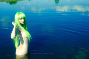 CODE GEASS: green-hair girl by KoujiAlone