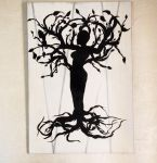 Tree of life  XL on canvas ( 1m / 70cm) by nousernameavailabl